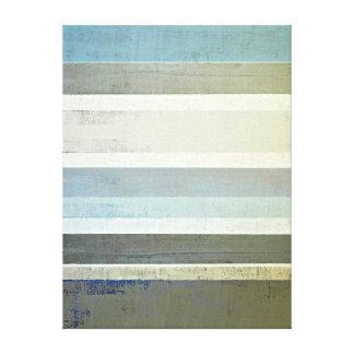 'No Limits' Blue Abstract Art Canvas Print