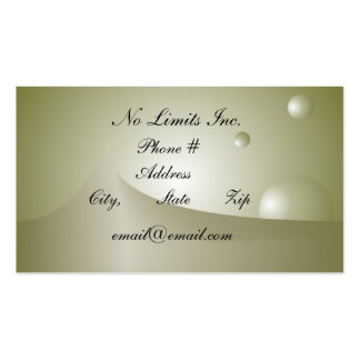 No Limits Business Card