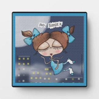 No Limits-City Girl Photo Plaques