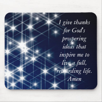 NO LIMITS, I give thanks for God's prospering i... Mouse Pad