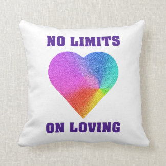 No Limits on Loving Pillow