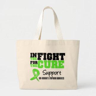 No linfoma de Hodgkins en la lucha para la curació Bolsas De Mano