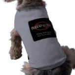 No Litter Dog Shirt