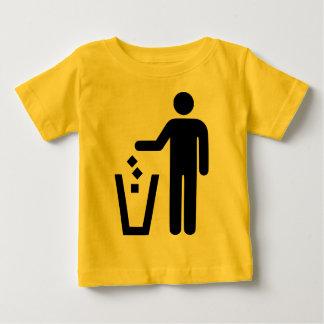 No Littering Baby T-Shirt