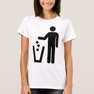 No Littering T-Shirt