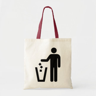 No Littering Tote Bag
