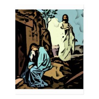 No llora, la tumba está vacía tarjeta postal