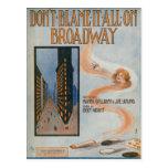 No lo culpe todo en Broadway Postal