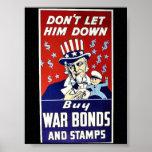 No lo deje abajo, no compre enlaces de guerra y se impresiones