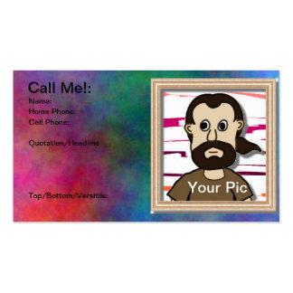 No lo deje conseguir lejos la tarjeta del record tarjetas de visita