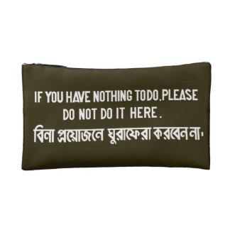 No lo haga aquí, muestra, Bangladesh