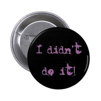 No lo hice botón pin
