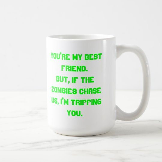 No lo tome personalmente… taza de café