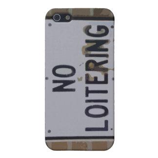 no loitering iPhone SE/5/5s case