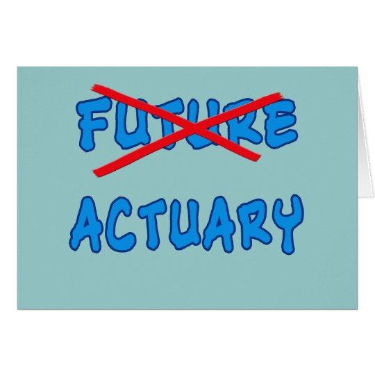 No Longer Future Actuary Grad Gift Card