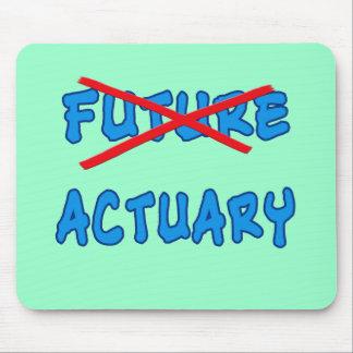 No Longer Future Actuary Grad Gift Mouse Pad
