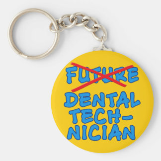 No Longer Future Dental Technician Keychains