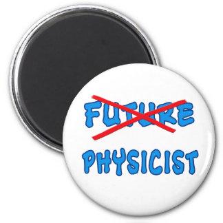 No Longer Future Physicist Grad Gift Fridge Magnet