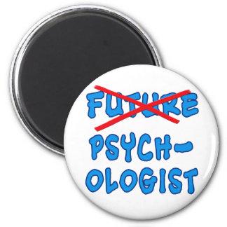 No Longer Future Psychologist Magnet