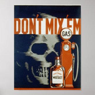 No los mezcle - el poster 1936