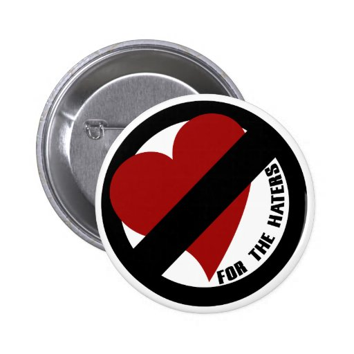 No Love for Player Haters 2 Inch Round Button