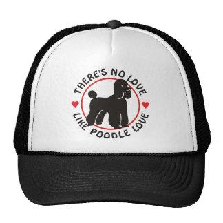 No Love Like Poodle Love-Black Hats