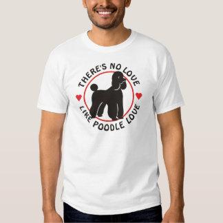 No Love Like Poodle Love-Black Shirt