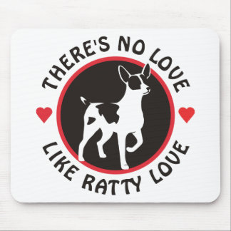 No Love Like Ratty Love Mouse Pad