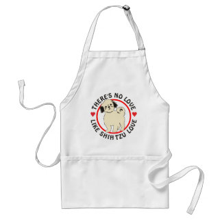No Love Like Shih Tzu Love-Puppy Adult Apron