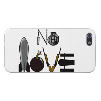 No Love War Weaponry Case For iPhone SE/5/5s