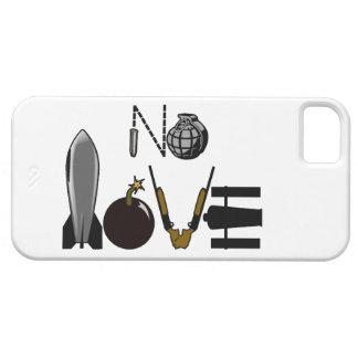No Love War Weaponry iPhone SE/5/5s Case
