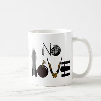 No Love War Weaponry Coffee Mug