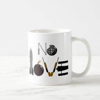 No Love Weapons Mug
