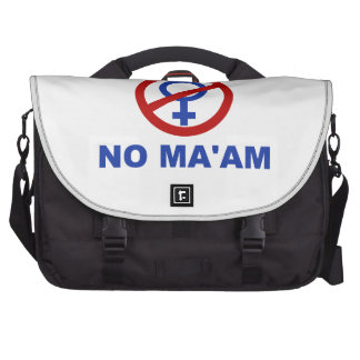 No Ma'am – Married with Children Bags For Laptop