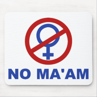 No Ma'am – Married with Children Mouse Pad