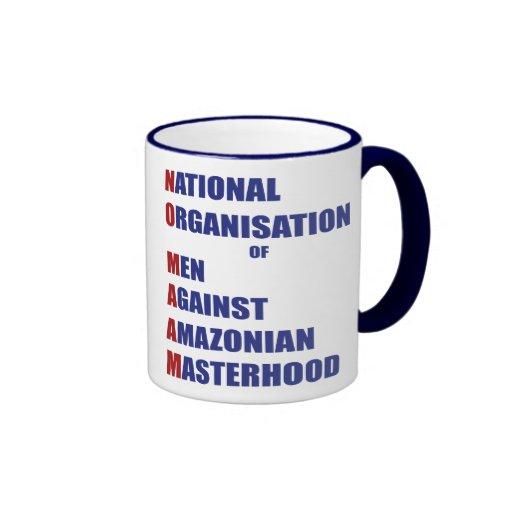 No Maam Ringer Coffee Mug