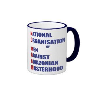 No Maam Ringer Mug