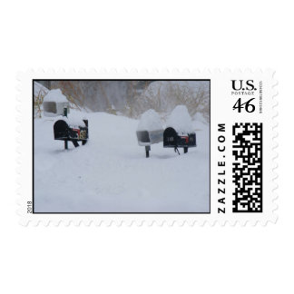 No Mail Today Postage Stamp