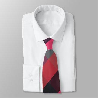 No malo ser corbata de la tela escocesa