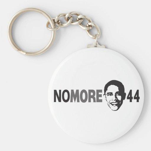 NO MÁS de 44 - Obama anti Llavero Personalizado