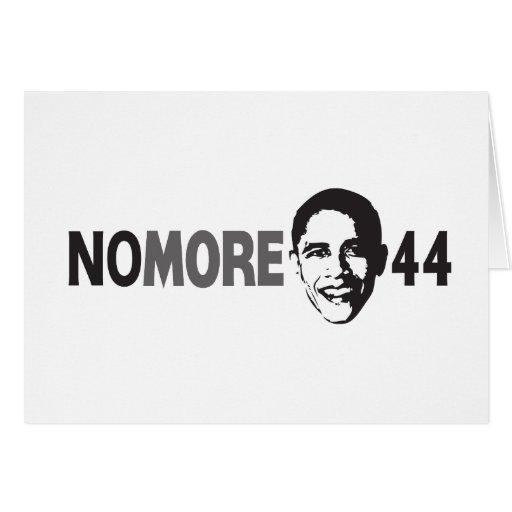 NO MÁS de 44 - Obama anti Tarjeton