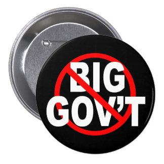 No más de botones grandes del gobierno