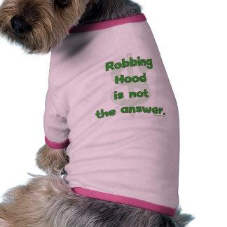 No más de capilla de robo camisetas de perrito