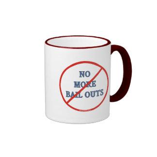 No más de desalojos urgentes tazas de café