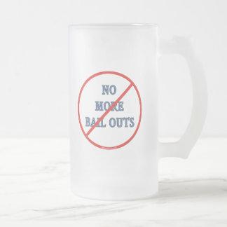 No más de desalojos urgentes tazas