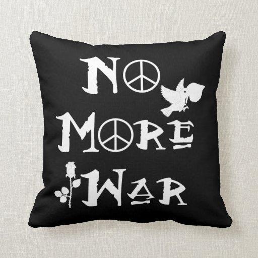 No más de guerra almohada