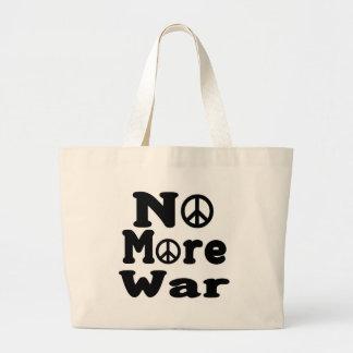 ¡No más de guerra! Bolsas