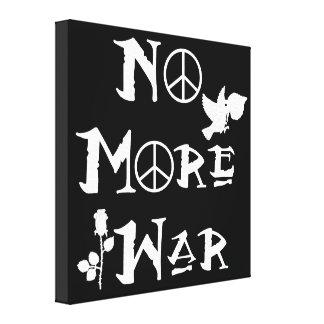 No más de guerra lona envuelta para galerias