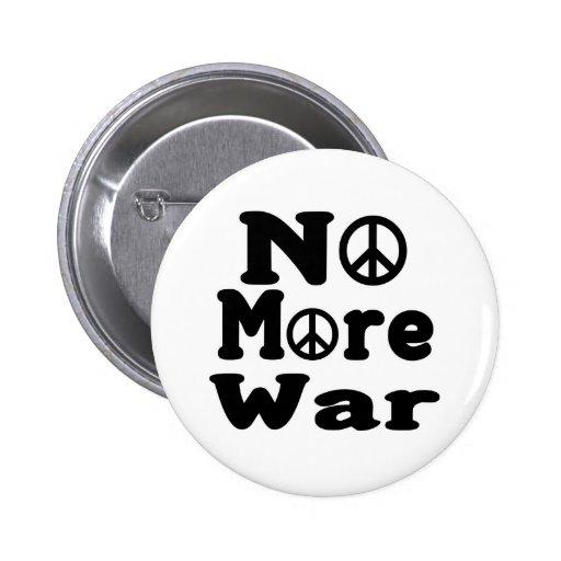 ¡No más de guerra! Pin Redondo 5 Cm