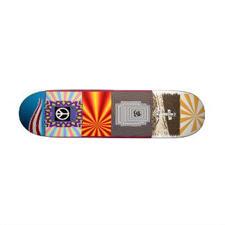 No más de guerra skateboards